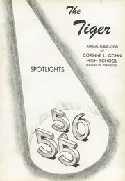 Page 5, 1956 Edition, Cohn High School - Accolade Yearbook (Nashville, TN) online yearbook collection