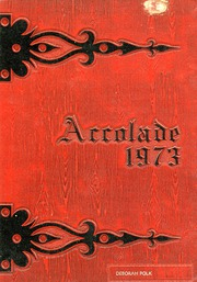 Page 1, 1973 Edition, Cohn High School - Accolade Yearbook (Nashville, TN) online yearbook collection