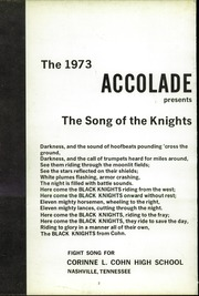 Page 6, 1973 Edition, Cohn High School - Accolade Yearbook (Nashville, TN) online yearbook collection