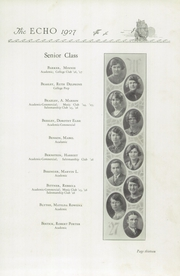 Page 17, 1927 Edition, Hume Fogg High School - Techs Book Yearbook (Nashville, TN) online yearbook collection