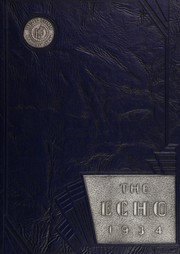 1934 Edition, Hume Fogg High School - Techs Book Yearbook (Nashville, TN)