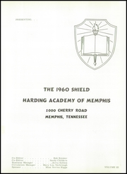 Page 5, 1960 Edition, Harding Academy - Shield Yearbook (Memphis, TN) online yearbook collection