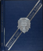 1982 Edition, Harding Academy - Shield Yearbook (Memphis, TN)