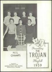 Page 5, 1959 Edition, Goodlettsville High School - Trojan Yearbook (Goodlettsville, TN) online yearbook collection