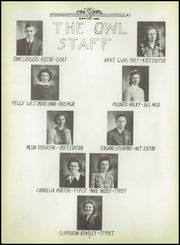 Page 12, 1943 Edition, Smith County High School - Owl Yearbook (Carthage, TN) online yearbook collection