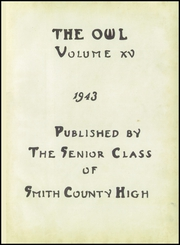 Page 5, 1943 Edition, Smith County High School - Owl Yearbook (Carthage, TN) online yearbook collection