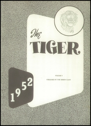 Page 7, 1952 Edition, Meigs County High School - Tiger Yearbook (Decatur, TN) online yearbook collection