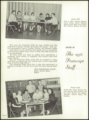 Page 10, 1956 Edition, Central High School - Postscript Yearbook (Murfreesboro, TN) online yearbook collection