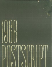 1968 Edition, Central High School - Postscript Yearbook (Murfreesboro, TN)
