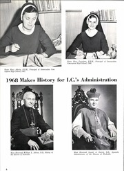 Page 12, 1968 Edition, Immaculate Conception High School - Marian Yearbook (Memphis, TN) online yearbook collection