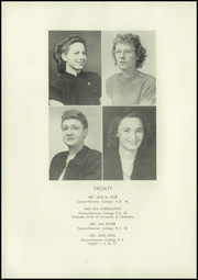 Page 14, 1947 Edition, Jefferson City High School - Elk Echo Yearbook (Jefferson City, TN) online yearbook collection