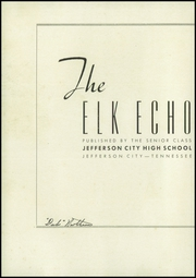 Page 4, 1947 Edition, Jefferson City High School - Elk Echo Yearbook (Jefferson City, TN) online yearbook collection