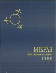 1966 Edition, David Lipscomb High School - Mizpah Yearbook (Nashville, TN)