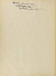 Page 2, 1950 Edition, Jackson High School - Tatler Yearbook (Jackson, TN) online yearbook collection