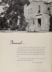 Page 6, 1950 Edition, Jackson High School - Tatler Yearbook (Jackson, TN) online yearbook collection