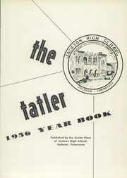 Page 5, 1956 Edition, Jackson High School - Tatler Yearbook (Jackson, TN) online yearbook collection