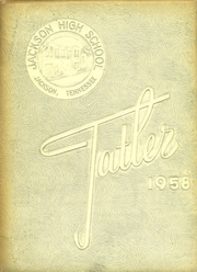 1958 Edition, Jackson High School - Tatler Yearbook (Jackson, TN)