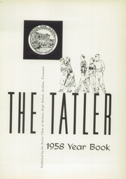 Page 5, 1958 Edition, Jackson High School - Tatler Yearbook (Jackson, TN) online yearbook collection