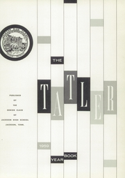 Page 5, 1959 Edition, Jackson High School - Tatler Yearbook (Jackson, TN) online yearbook collection