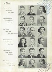Page 49, 1950 Edition, Young High School - Record Yearbook (Knoxville, TN) online yearbook collection