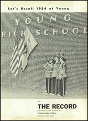 Page 5, 1954 Edition, Young High School - Record Yearbook (Knoxville, TN) online yearbook collection