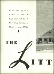Page 6, 1950 Edition, Litton High School - Littonian Yearbook (Nashville, TN) online yearbook collection