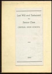 Page 2, 1944 Edition, Central High School - Megaphone Yearbook (Nashville, TN) online yearbook collection