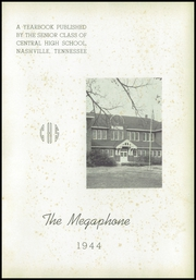 Page 5, 1944 Edition, Central High School - Megaphone Yearbook (Nashville, TN) online yearbook collection