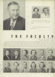 Page 10, 1952 Edition, Central High School - Megaphone Yearbook (Nashville, TN) online yearbook collection