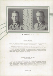 Page 38, 1933 Edition, Baylor High School - Klif Klan (Chattanooga, TN) online yearbook collection