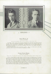 Page 39, 1933 Edition, Baylor High School - Klif Klan (Chattanooga, TN) online yearbook collection