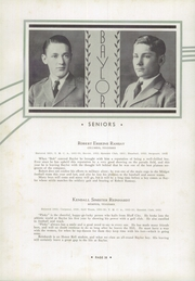 Page 42, 1933 Edition, Baylor High School - Klif Klan (Chattanooga, TN) online yearbook collection