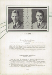 Page 46, 1933 Edition, Baylor High School - Klif Klan (Chattanooga, TN) online yearbook collection