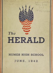 Page 1, 1942 Edition, Humes High School - Senior Herald Yearbook (Memphis, TN) online yearbook collection