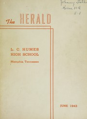 Humes High School - Senior Herald Yearbook (Memphis, TN) online yearbook collection, 1943 Edition, Page 1