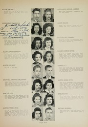 Page 11, 1944 Edition, Humes High School - Senior Herald Yearbook (Memphis, TN) online yearbook collection