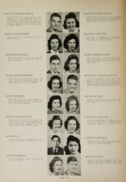 Page 12, 1944 Edition, Humes High School - Senior Herald Yearbook (Memphis, TN) online yearbook collection