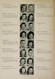 Page 14, 1944 Edition, Humes High School - Senior Herald Yearbook (Memphis, TN) online yearbook collection