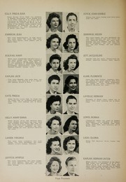 Page 16, 1944 Edition, Humes High School - Senior Herald Yearbook (Memphis, TN) online yearbook collection