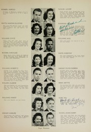 Page 21, 1944 Edition, Humes High School - Senior Herald Yearbook (Memphis, TN) online yearbook collection