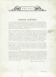 Page 15, 1939 Edition, Bellevue High School - Owl Yearbook (Nashville, TN) online yearbook collection
