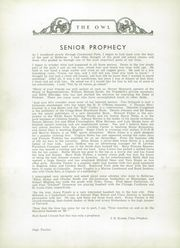 Page 16, 1939 Edition, Bellevue High School - Owl Yearbook (Nashville, TN) online yearbook collection