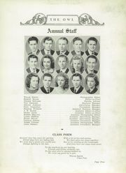 Page 9, 1939 Edition, Bellevue High School - Owl Yearbook (Nashville, TN) online yearbook collection