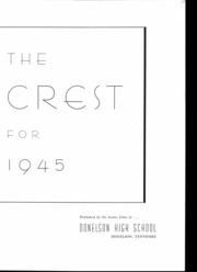 Page 4, 1945 Edition, Donelson High School - Crest Yearbook (Nashville, TN) online yearbook collection