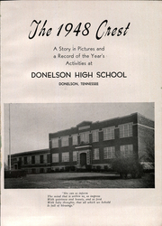 Page 5, 1948 Edition, Donelson High School - Crest Yearbook (Nashville, TN) online yearbook collection