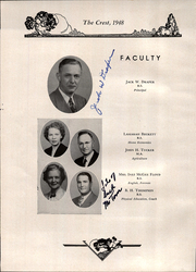 Page 8, 1948 Edition, Donelson High School - Crest Yearbook (Nashville, TN) online yearbook collection