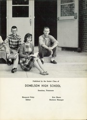 Page 7, 1961 Edition, Donelson High School - Crest Yearbook (Nashville, TN) online yearbook collection