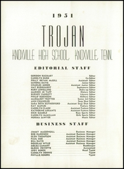 Page 6, 1951 Edition, Knoxville High School - Trojan Yearbook (Knoxville, TN) online yearbook collection