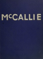 Page 1, 1953 Edition, McCallie High School - Pennant Yearbook (Chattanooga, TN) online yearbook collection