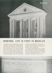 Page 9, 1956 Edition, McCallie High School - Pennant Yearbook (Chattanooga, TN) online yearbook collection